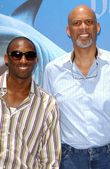 Kobe Bryant and Kareem Abdul Jabbar — Stock Photo