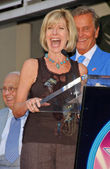 Debby Boone and Pat Boone — Stock Photo