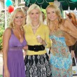 Stock Photo: Katie Lohmann with Holly Madison and AlanCurry at Playboy Mansion Easter Egg Hunt. Playboy Mansion, Los Angeles, CA. 04-07-07