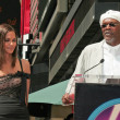 Постер, плакат: Halle Berry and Samuel Jackson