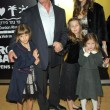 Sylvester Stallone and Jennifer Flavin with family — Stok fotoğraf