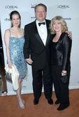 Kristin Gore with Al Gore and Tipper Gore — Stock Photo