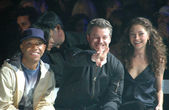 Russell Simmons with Eric Dane and Rebecca Gayheart — Foto Stock