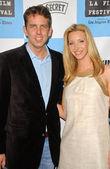 Scott Prendergast and Lisa Kudrow — Stock Photo
