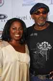 LaTanya Richardson and Samuel L Jackson — Stock Photo