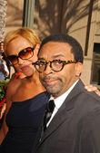 Tonya Lewis Lee and Spike Lee — Stock Photo
