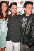 Susie sprague avec corey feldman et corey haim — Photo