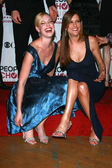 Katherine Heigl and Kate Walsh in the press room at The 33rd Annual Choice Awards. Shrine Auditorium, Los Angeles, CA. 01-09-07 — Stock Photo