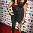Kerri Kasem and friend - Stockfoto