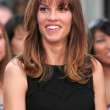 Hollywood Walk of Fame Honoring Hilary Swank - ストック写真