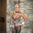 Stock Photo: Katie Lohmann at Milwaukees Best Party, Playboy Mansion, Beverly Hills, C03-08-07