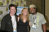 Ben Browder, Amanda Tapping, Christopher Judge — Stockfoto