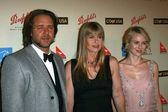 Russell Crowe with Terri Irwin and Naomi Watts — Stock Photo