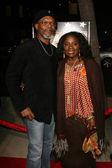 Samuel L Jackson and LaTanya Richardson — Stock Photo