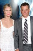 Julia stiles und matt damon — Stockfoto