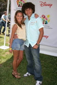Adrienne Bailon and Corbin Bleu at A Time For Heroes Benefit Sponsored by Disney for the Elizabeth Glaser Pediatric AIDS Foundation. Wadsworth Theatre, Westwood, CA. 06-10-07 — Stock Photo