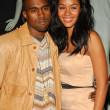 Kanye West and Alexis Rainey - Stok fotoğraf