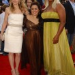Michelle Pfeiffer with Nikki Blonsky and Queen Latifah — Stock Photo