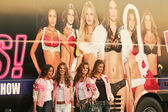 Selita Ebanks, Alessandra Ambrosio, Izabel Goulart and Adriana Lima — Stock Photo