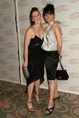 Tiffany and Morgan Lancaster — Stock Photo