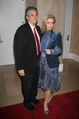 Richard Holland and Donna Mills — Stock Photo
