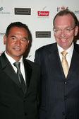 Temuera Morrison and Ambassador Roy Ferguson — Stock Photo