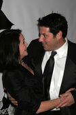 Rena Sofer and Greg Grunberg — Foto de Stock