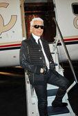 Karl Lagerfeld — Foto de Stock