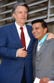 Mike Curb and Casey Kasem — Stock Photo