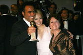 Alejandro Gonzalez Inarritu with Rinko Kikuchi and Adriana Barraza at the Paramount Pictures 2007 Golden Globe Awards After-Party. Beverly Hilton Hotel, Beverly Hills, CA. 01-15-07 — Stock Photo