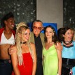 Stan Lee and Contestants — Stock Photo