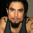 Dave Navarro In Store to Promote Guitar Hero II — Stock Photo