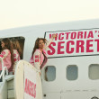 Stock Photo: AdrianLimat arrival of Victorias Secret Models viPrivate Jet to Burbanks Bob Hope Airport, Burbank, C11-14-06