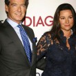Постер, плакат: Pierce Brosnan and Keely Shaye Smith