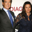������, ������: Pierce Brosnan and Keely Shaye Smith