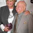 Mickey Rooney and wife Jan — Stock Photo #16127435