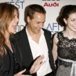 Rita Wilson with Chad Lowe and Michelle Trachtenberg — Stock Photo