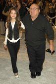 Danny DeVito and daughter — Stock Photo