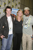 Ben Browder, Amanda Tapping, Christopher Judge — Zdjęcie stockowe