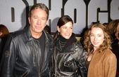 Tim Allen with Jane Hajduk and daughter Kady — Stock Photo