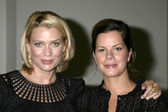 Laurie holden und marcia gay harden — Stockfoto