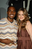 Kanye West and Alicia Silverstone — Stock Photo