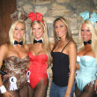 ������, ������: Katie Lohmann Amanda Paige and Tina Jordan at the Milwaukees Best Party Playboy Mansion Beverly Hills CA 03 08 07