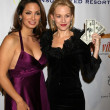 Alex Meneses and Penelope Ann Miller at the premiere of Funny Money. Directors Guild Theater, Hollywood, CA. 01-18-07 — Stock Photo