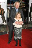 スティーブ ティッシュと彼の娘 — ストック写真