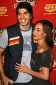 Brandon Routh, Courtney Ford — Stock Photo