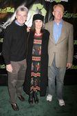 Richard Benjamin with Paula Prentiss and Ed Begley Jr — Stock Photo