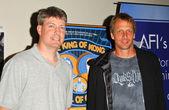 Steve Wiebe and Tony Hawk — Stock Photo