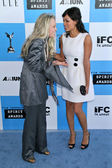 Faye Dunaway and Rosario Dawson — Stock Photo