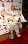 Richard Branson and Eve Branson — Stock Photo